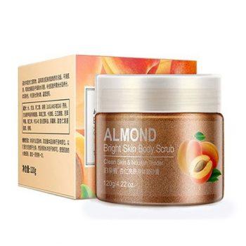 Bioaqua Almond Brightening Body Scrub 120gm