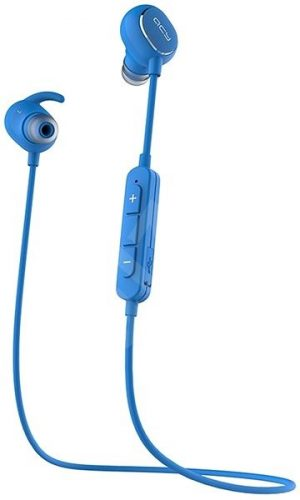 QCY QY19 Bluetooth Headset - Blue