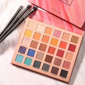 FOCALLURE ENDLESS POSSIBILITIES Eyeshadow Palette 30 COLOR IN 1 PALLATE Waterproof Glitter High Pigment Eye Makeup shades sets FA-82