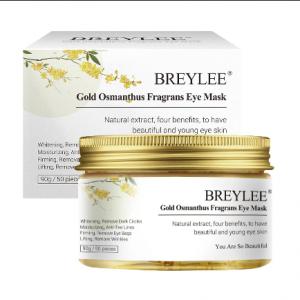 BREYLEE GOLD OSMANTHUS EYE MASK
