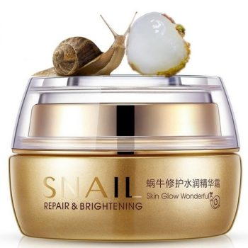 Bioaqua Snail Skin Repairing Anti Wrinkle Natural Moisturizing White Cream