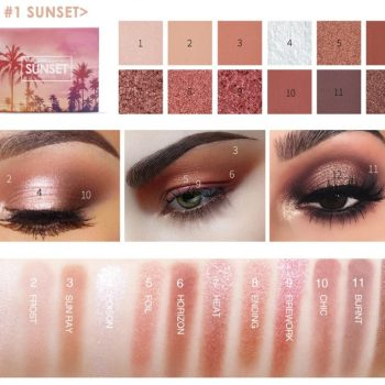 Focallure Sunset 12 Colors Eyeshadow Palette