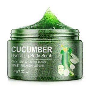 BIOAQUA Cucumber Body Scrub