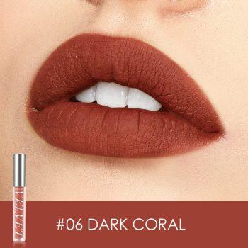 FOCALLURE Velvet Matte Liquid Lipstick shade 6