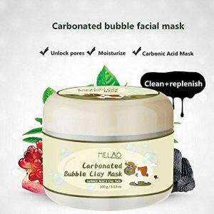 Melao Carbonated Bubble Clay Mask 100gm Carbonated acid and Clay Mask