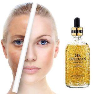 MAISON DE NATURE 24k Goldzan Ampoule Gold Face Serum 100ml