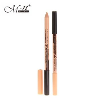 Menow 2 in 1 Eyebrow Pencil -DARK BROWN ONLY 1PCS