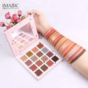 imagic 16 color eyeshadow palette pink