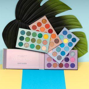 6970201940440 BEAUTY GLAZED New Color Board Eyeshadow Palette 60 Colors Eyeshadow Pallete