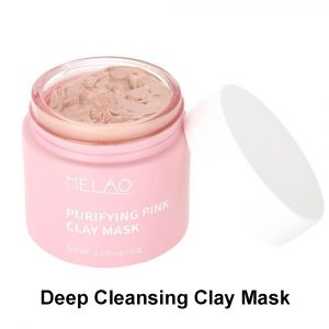 6952243299588 Melao Purifying Illuminate Refine Pink Clay Mask, Oil Control Shrinking Pores Blackhead Removing Deep Cleansing Moisturizing Clay Facial Mask, 60g