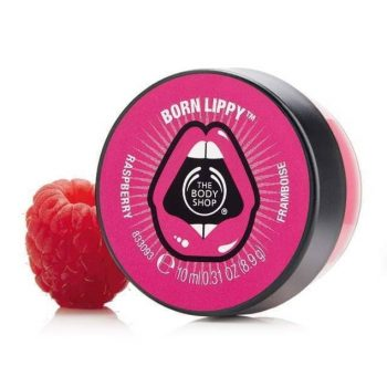 The Body Shop Born Lippy Pot Lip Balm – Raspberry (10ml)