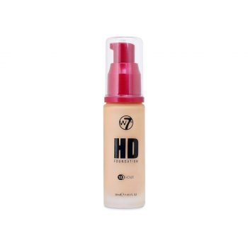 W7 12 Hour HD Foundation - Creme Brule - New Ultra Smooth Full Coverage Formula