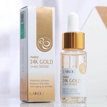 LAIKOU France 24K Gold Snail Serum15ml