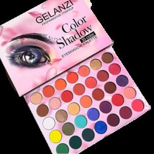 GELANZI Professional Makeup 35 Color Eyeshadow Palette