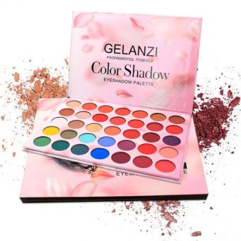 GELANZI Professional Makeup 35 Color Eyeshadow Palette