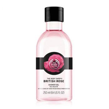 The Body Shop British Rose Shower Gel (250 ml)