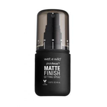 wet n wild photo focus matte finish setting spray