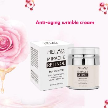 \Melao Miracle Retinol Moisturizer Cream for Face - Anti Wrinkle Night & Day Moisturizing Cream 1.7 Fl.Oz.\