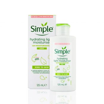 Simple Kind To Skin Hydrating Light Moisturiser – 125ml