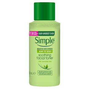 Simple Kind to Skin Soothing Facial Toner (50ml)