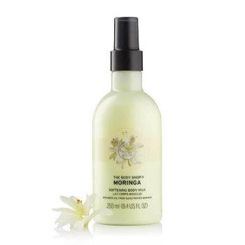 The Body Shop Moringa Softening Body Milk (250 ml)