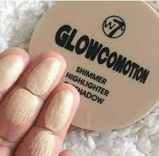 W7 Glowcomotion Shimmer Highlighter Eyeshadow - 8.5gm