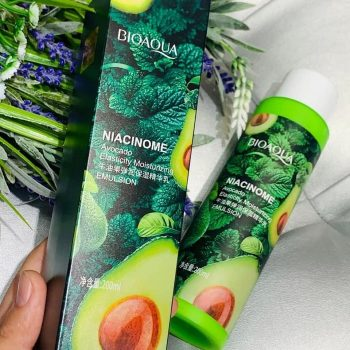 BIOAQUA Niacinome Avocado Extract Elasticity Hydration Moisturizing Emulsion 200ml