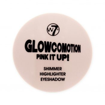 Glowcomotion can be used as a highlighter, shimmer or an eyeshadow. This handy, pink and highly pigmented compact comes with an internal mirror containing a super shimmering, highlighting powder with a subtle golden glow. With a highly pigmented formula, cause a makeup commotion with Glowcomotion. W7 Tip: Use across the top of cheekbones and up towards the temples to make features pop. For eye shadow, apply to the inner corners of the eye.