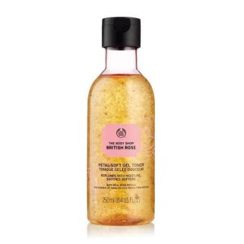 The Body Shop British Rose Petal Soft Gel Toner (250 ml)
