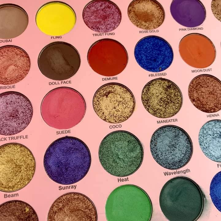 Who is this GIRL! 35 color shimmer and matte eye shadow palate