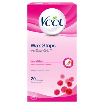 Veet Wax Strips with Easy Grip for Normal Skin