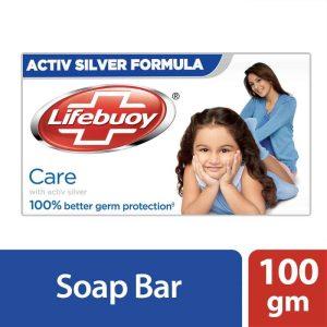 Lifebuoy Soap Bar Care White 100g