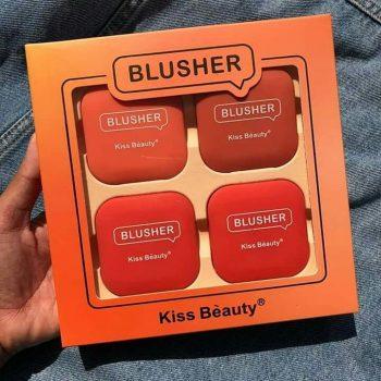 KISS BEAUTY BLUSHER SET