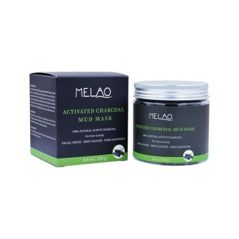 MELAO Activated Charcoal Mud Mask (250 g)