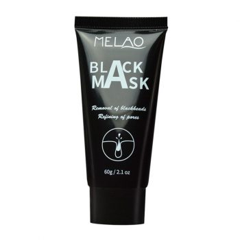 MELAO Black Mask Bamboo Charcoal Activated Blackhead Remover Mask