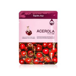 Farm Stay Visible Difference Mask Sheet – Acerola 345g