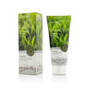 3W Clinic Green Tea Foam Cleansing 100 ml