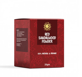 Rajkonna 100% Natural & Organic Red Sandalwood Powder (25 gm)