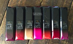 PUDAIER 21 Colors Matte and Metallic Liquid Lip Gloss
