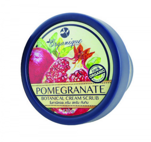 Organaque Pome Granate Botanical Cream Scrub 110g