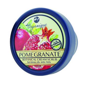 Organaque Pome Granate Botanical Cream Scrub 110g