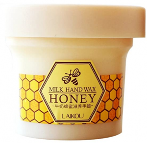 LAIKOU Milk Honey Whitening Tender Exfoliating Hand Wax