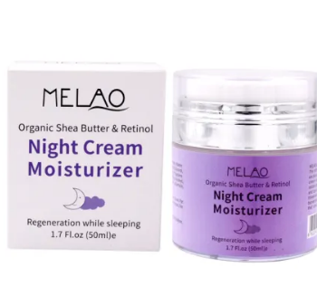 Melao Best Whitening Anti Aging Night Face and Skin Cream 50ml