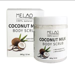 MELAO Coconut Body Scrub (340 g)