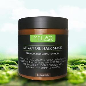 MELAO Moisturizing Nourishing Conditioner Natural Argan Hair oil Mask 250 ml