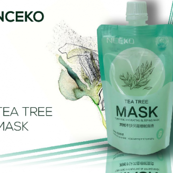 Tea tree purifying hydrating sleeping mask