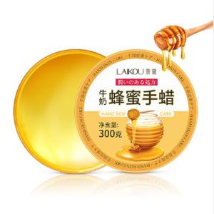 LAIKOU Hand Care Peel off Mask Organic Moisturizing Nourishing Exfoliating Tender Smoothing Milk Honey Hand Wax