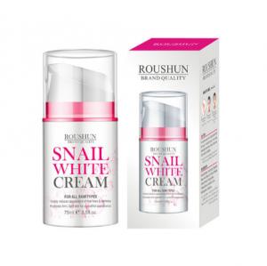 Roushun Day & Night Cream to Smooth Wrinkles,Snail white Cream whitening skin