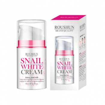 Roushun Day & Night Cream to Smooth Wrinkles,Snail white Cream whitening skin