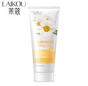 LAIKOU Body Facial Exfoliator Camomile Face Cream Leg Arm Knee Exfoliating Peeling Gel Whitening Scrub Deep Pore Removal 180g